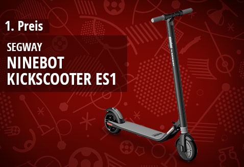 Elektroroller Ninebot KickScooter ES1 von SEGWAY