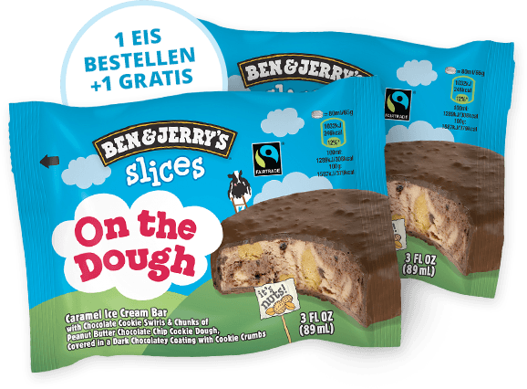 2x Ben & Jerry's On the Dough