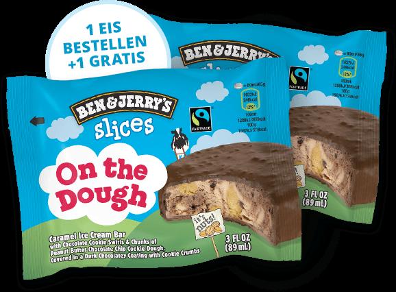 2x Ben & Jerry's On the Dough