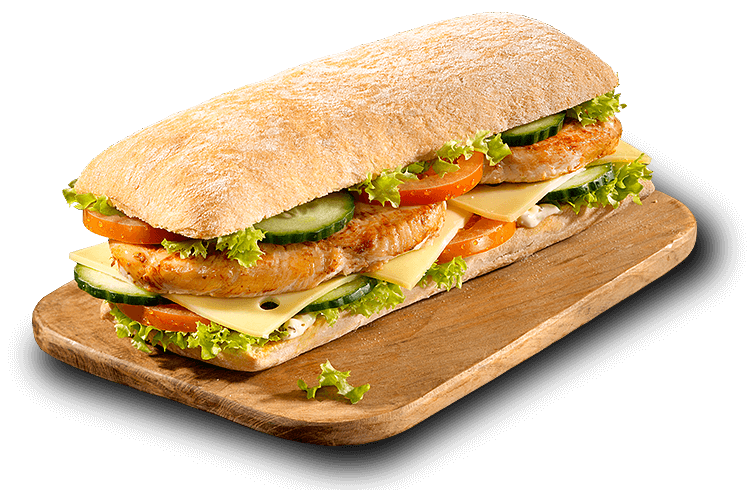Baguette Grilled Chicken