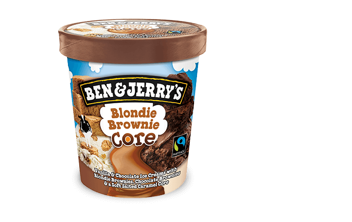 Ben & Jerry's Blondie Brownie Core