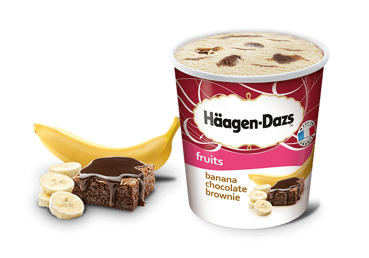 Häagen-Dazs Banana Chocolate Brownie