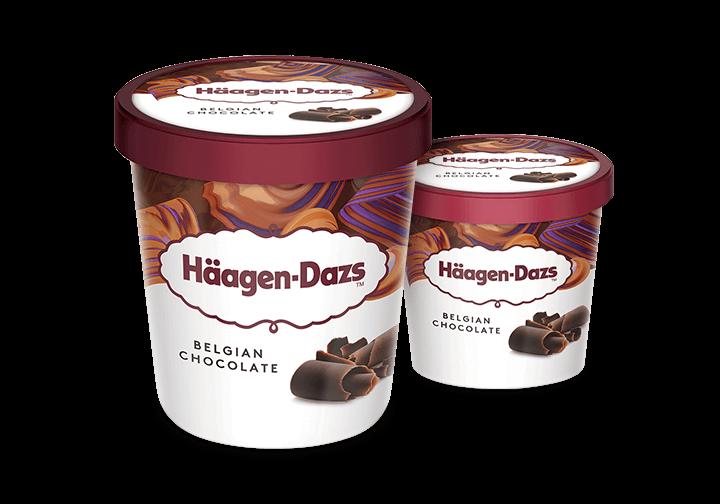 Häagen-Dazs Belgian Chocolate