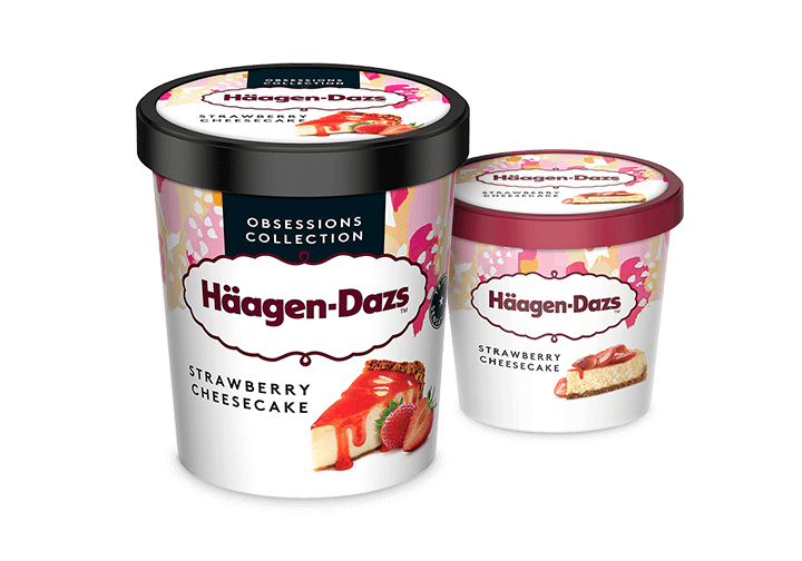 Häagen-Dazs Strawberry Cheesecake