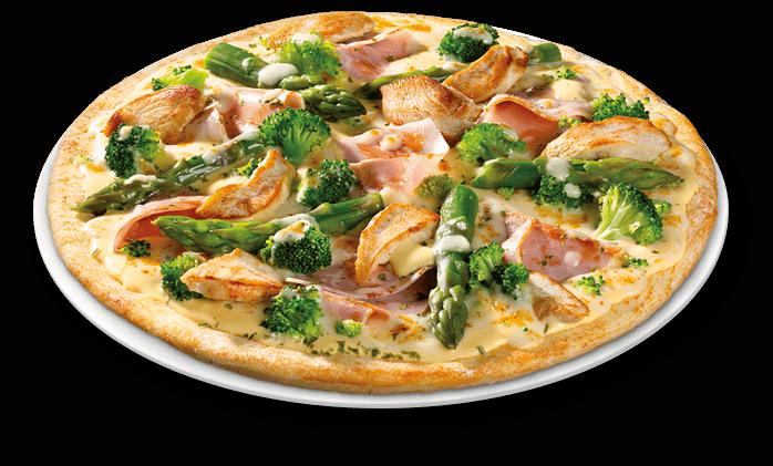 Pizza Augenweide