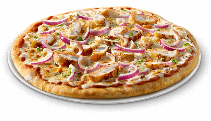 Pizza BBQ Chicken