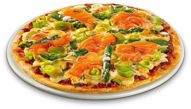 Pizza Frühlingsbrise