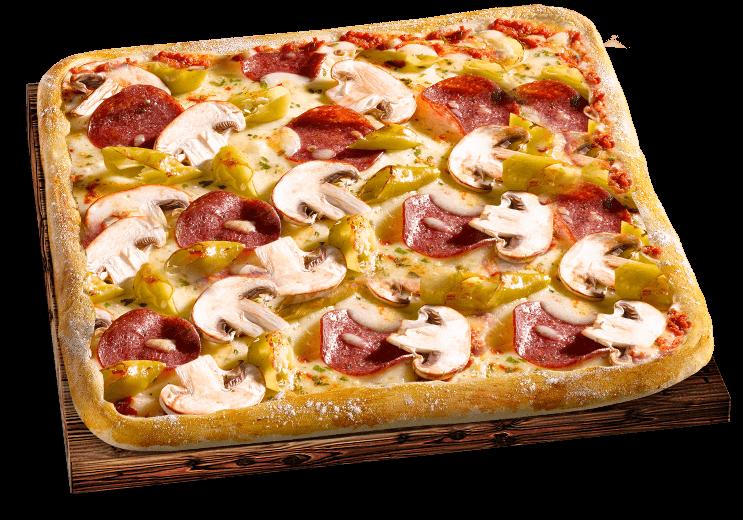 Pizza Mittagsschmaus Diabolo
