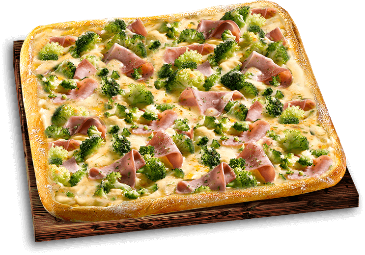 Pizza Mittagsschmaus Hollandaise