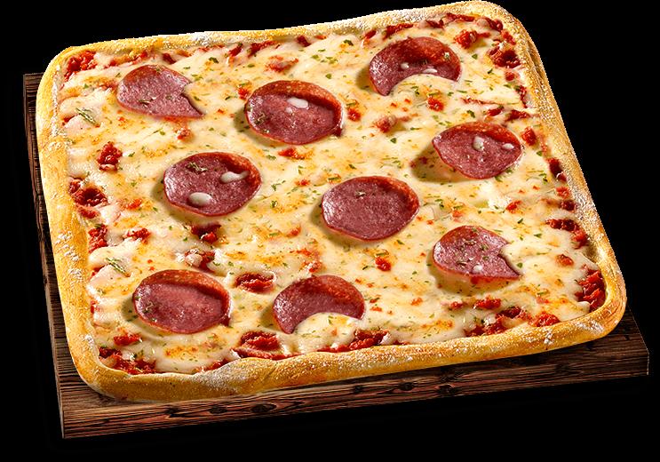 Pizza Mittagsschmaus Salami