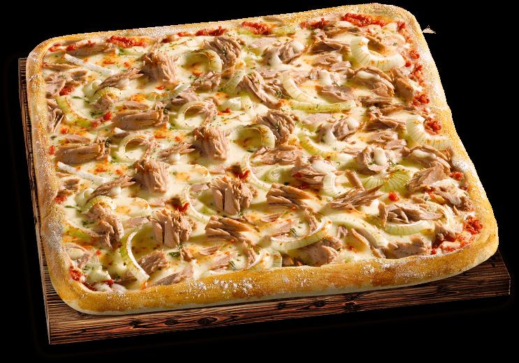 Pizza Mittagsschmaus Tonno