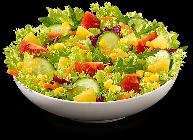 Vegan Salat Ananas